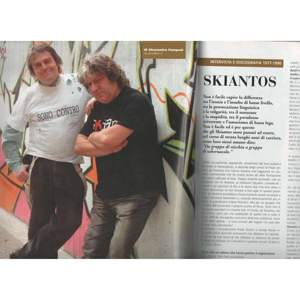 Skiantos RARO! (N.210 May 2009) (Italian 2009 music collector's magazine)