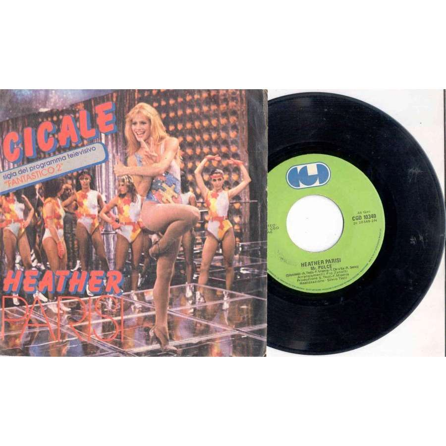 Heather Parisi Cicale (Italian 1981 2-trk 7single full ps)