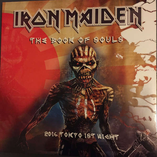 Iron Maiden 2016 Tokyo 1st Night - The Book Of Souls (3xlp) Ltd Edit Gatefold Poch -Ger