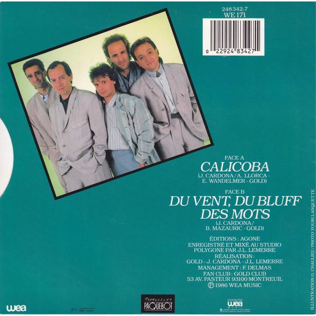 GOLD music match canal + Calicoba / du vent du bluff des mots