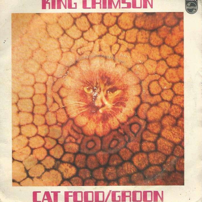 King Crimson Album Cat Food