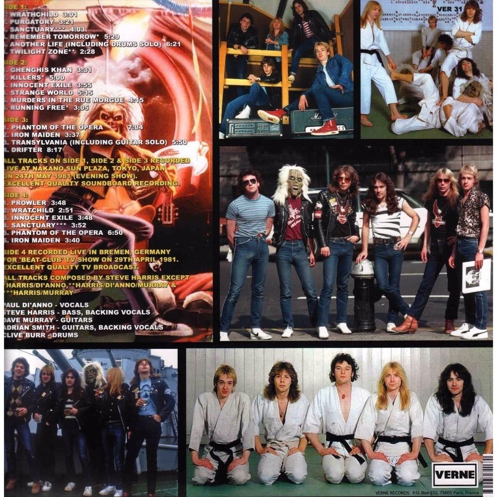 Iron Maiden live in tokyo 1981 (2xlp)