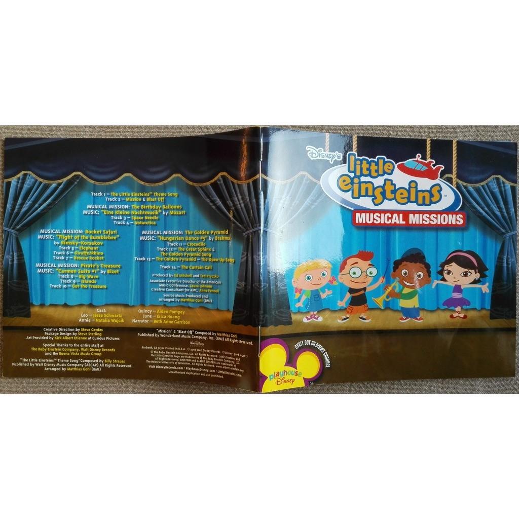 Disney S Little Einsteins Musical Missions By Little