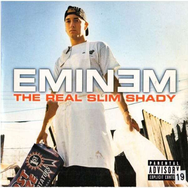 The Real Slim Shady Bad Influence By Eminem Cds With