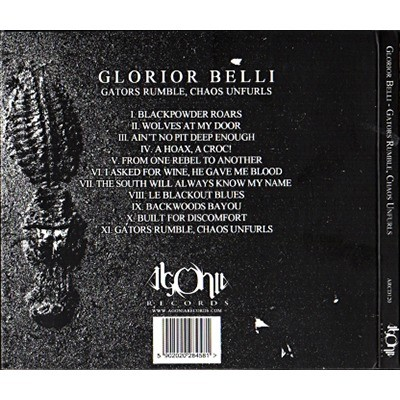 Gators rumble, chaos unfurls by Glorior Belli, CD with ledotakas