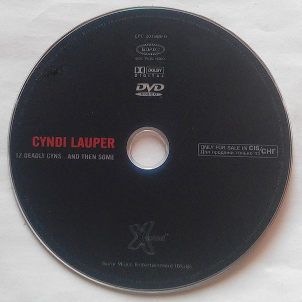Twelve Deadly Cyns And Then Some By Cyndi Lauper Dvd With Techtone11 Ref 118399418