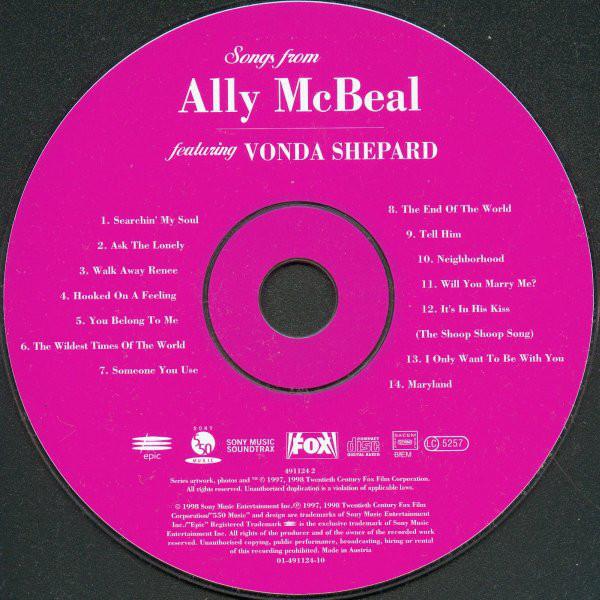 Vonda Shepard – Songs From Ally McBeal