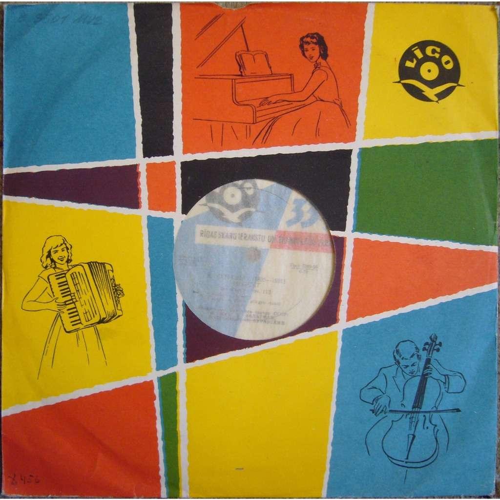 9e5499eae255 BOLSHOI THEATRE QUARTET Saint-Saens String Quartet Rec.1961 LIGO 1st D7503  NM