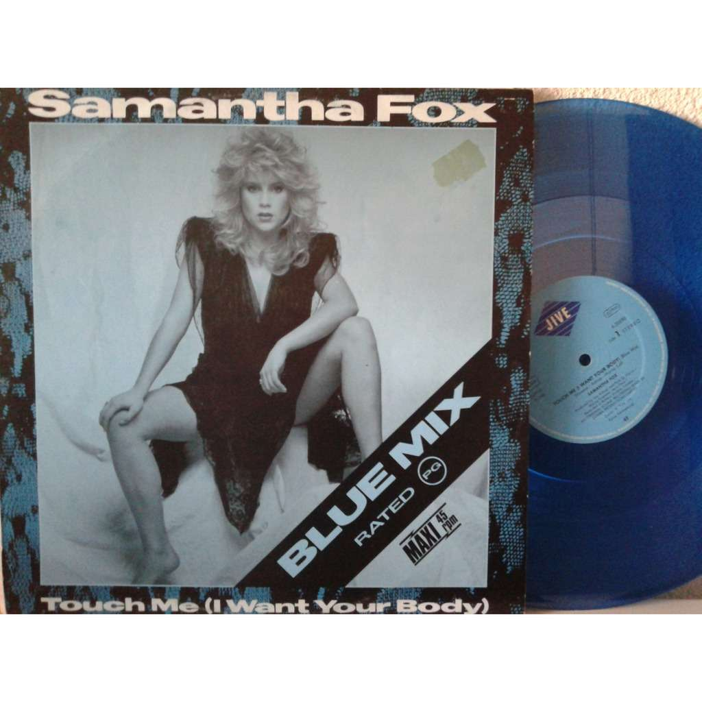 Touch Me Blue Mix By Samantha Fox 12inch With Fiphi