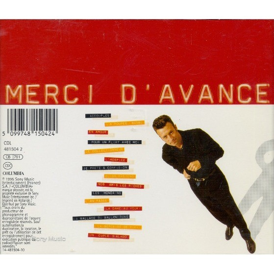 Merci d\'avance by Marka, CD with minkocitron - Ref:118463285