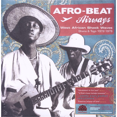 Afro-beat Airways ghana & togo 1972-79