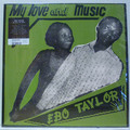 EBO TAYLOR - MY LOVE AND MUSIC (Afro/Funk) - 33T