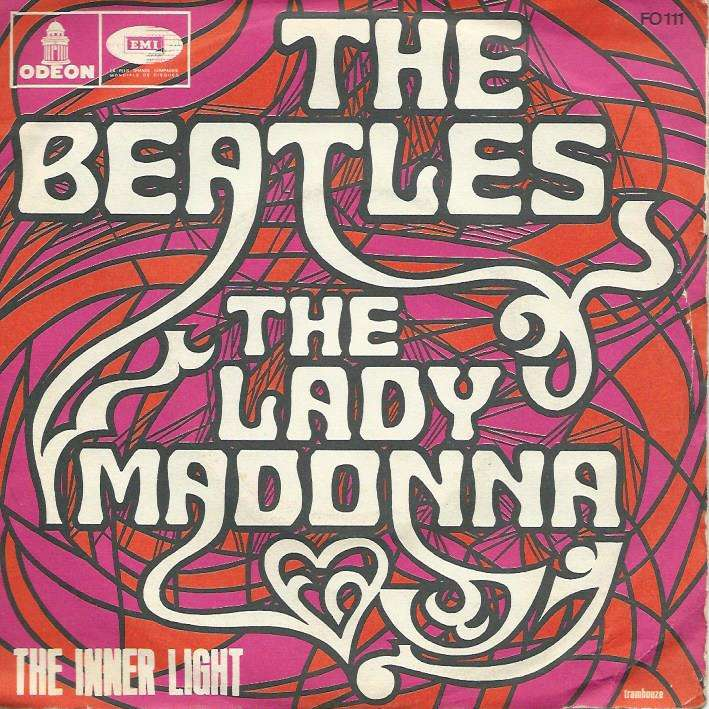 BEATLES lady madonna / the inner light (avec the)