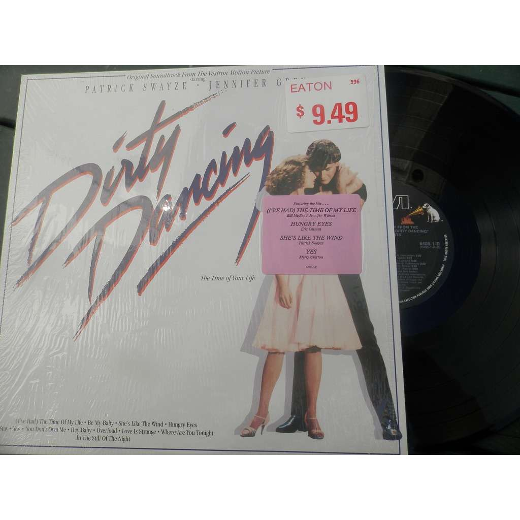 Dirty dancing by Patrick Swayze.Jennifer Grey, LP with tibo2559 ...