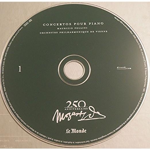maurizio pollini, orch. philharmonique de vienne mozart 250 ème anniversaire n°1 - concertos pour piano