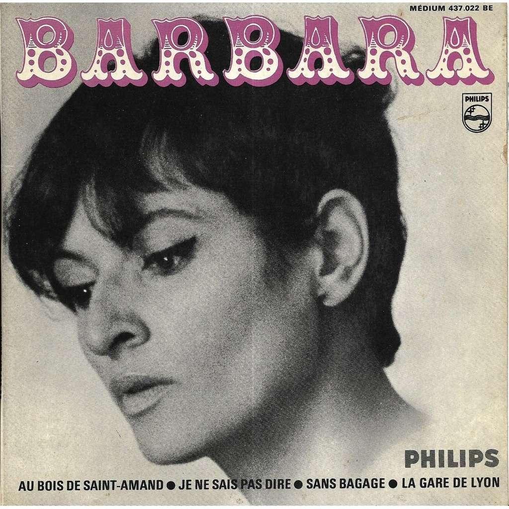 Barbara Au bois de Saint-Amand