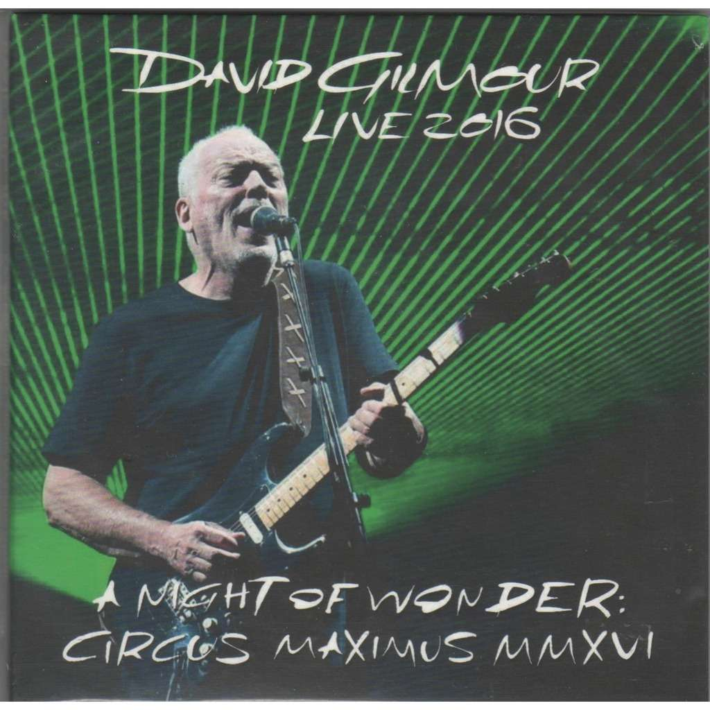 Pink Floyd / David Gilmour A Night Of Wonder: Circus Maximus MMXVI (Roma IT Circo Massimo 02.06.2016)