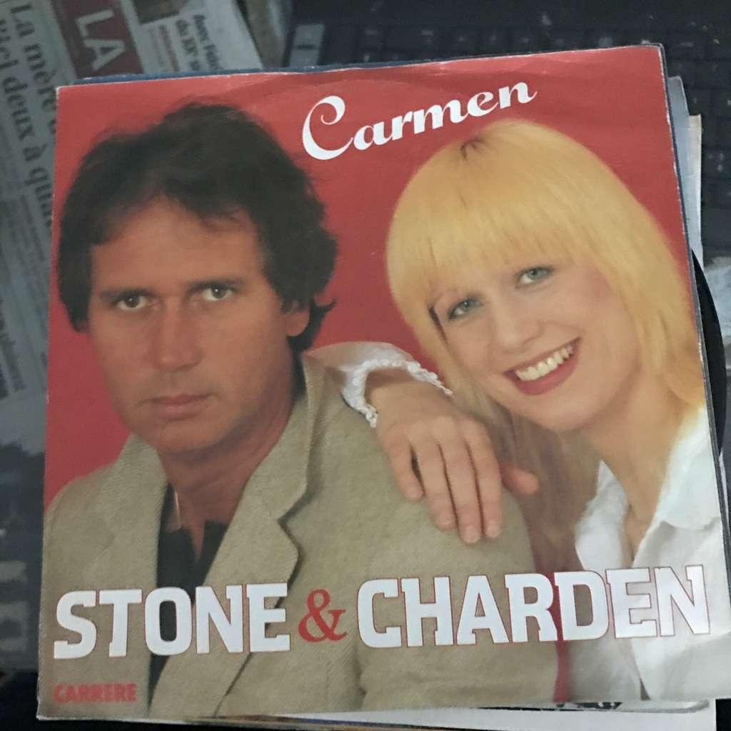 STONE et CHARDEN CARMEN / ON VIENT VOUS DECLARER L' AMOUR