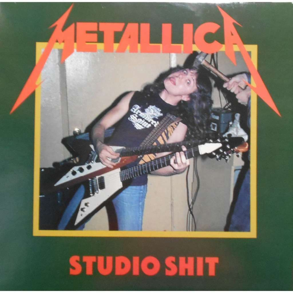 metallica studio shit