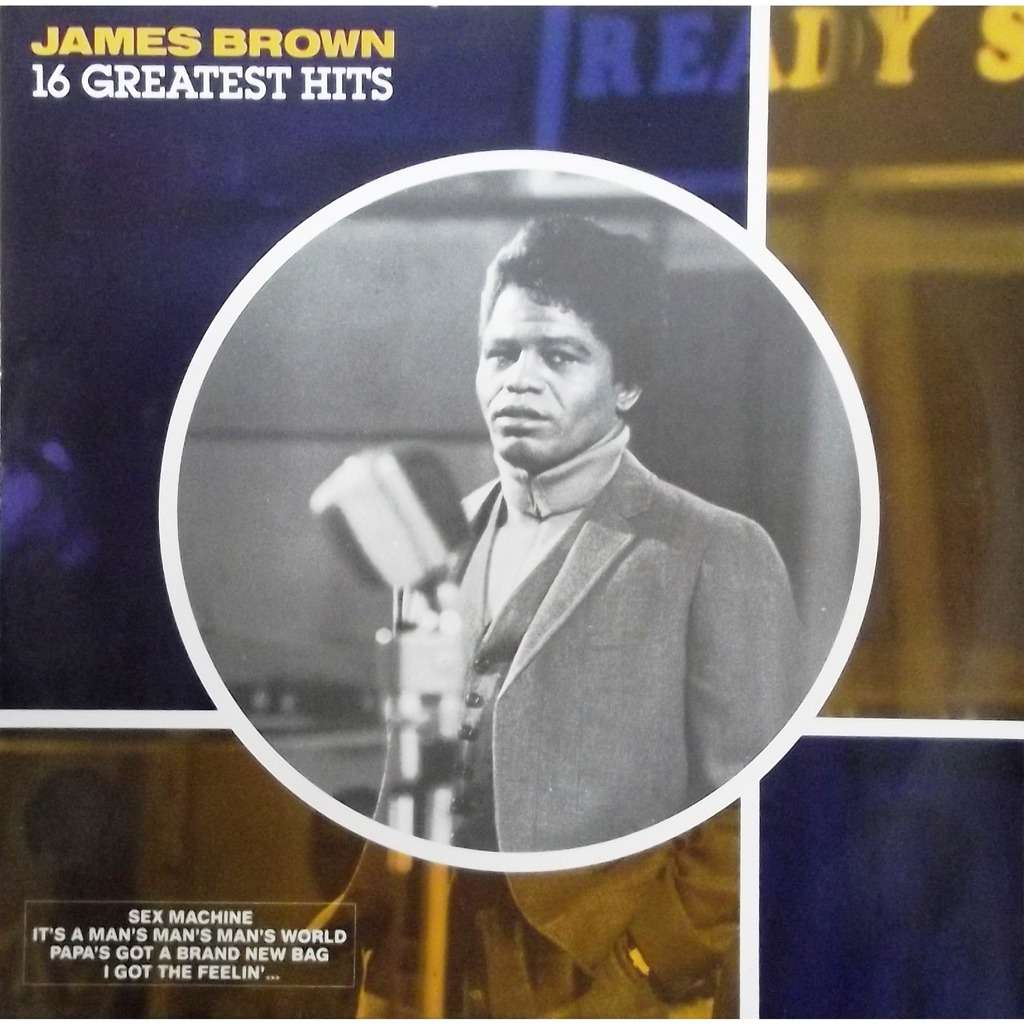 James brown James brown - 16 greatest hits