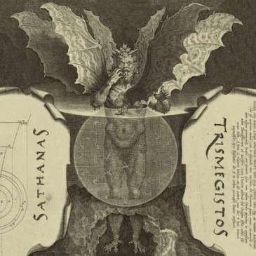HEAD OF THE DEMON Sathanas Trismegistos