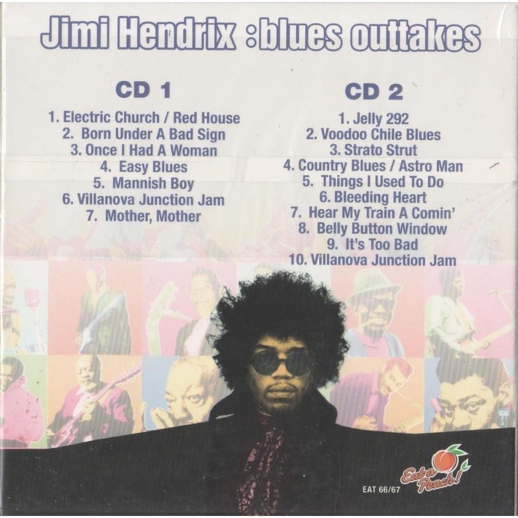 Jimi Hendrix Blues Outtakes (Euro Ltd 17-trk 2CD set card ps+inner slvs & booklet!!!)