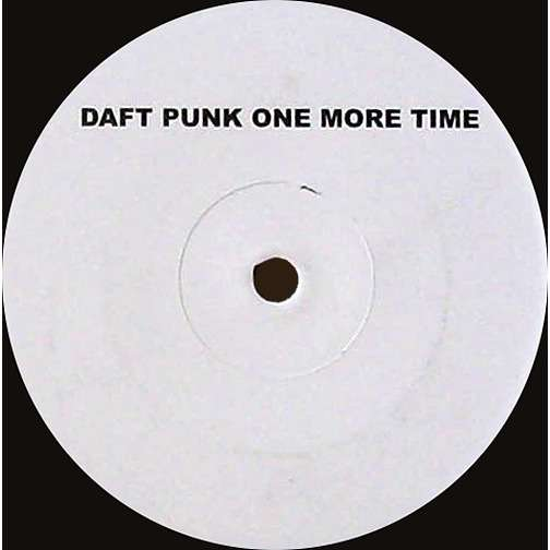 daft punk One More Time (Promo, Single Sided )