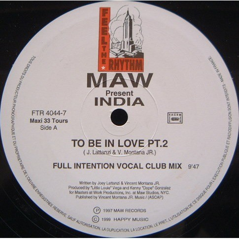 Masters At Work Present India To Be In Love - Part 2