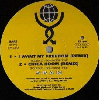 SBAM Just Can't Get Enough x2 /Chica Boom (Remix)