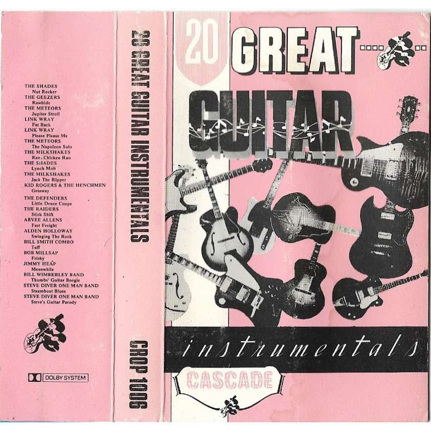 compilation . divers . various artists 20 Great Guitar Instrumentals