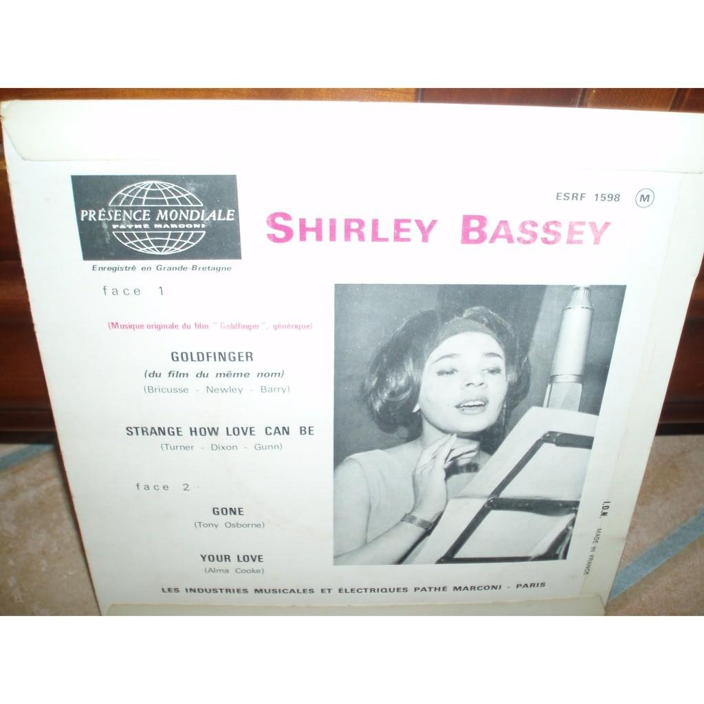 SHIRLEY BASSEY GOLDFINGER +3