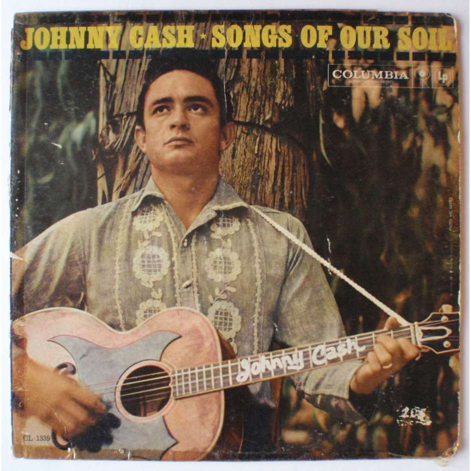 Songs of our soil by Johnny Cash, LP with pefa63 - Ref:118484177