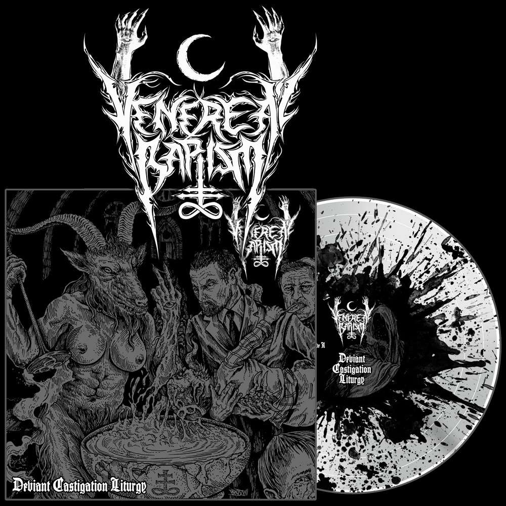 VENEREAL BAPTISM Deviant Castigation Liturgy. Splatter Vinyl