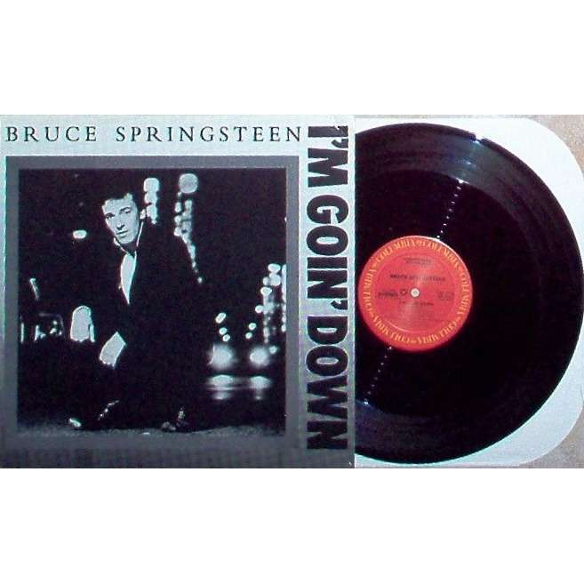 Bruce Springsteen I'm Goin' Down (USA 1984 2-trk promo-only 12ep unique ps)