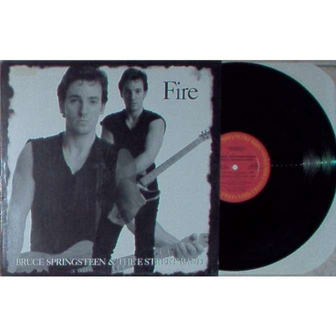 Bruce Springsteen Fire (USA 1986 Ltd 4-trk promo-only 12ep unique ps)