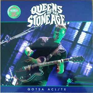 Austin City Limits, Texas, Oct 11th, 2013 - 128/150 green vinyle Queens Of The Stone Age