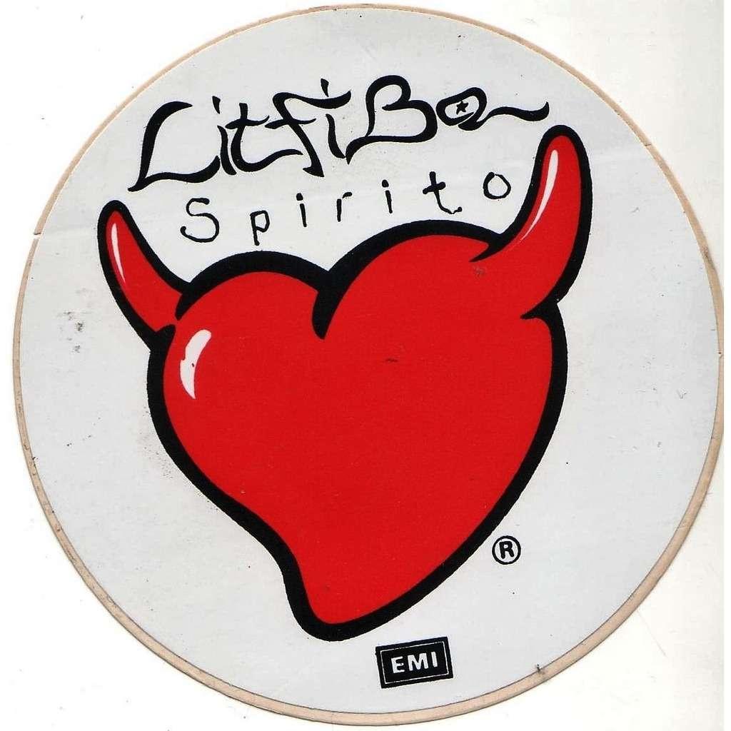 Litfiba Spirito (Italian 1994 original EMI 'album release' romo sticker!!!)