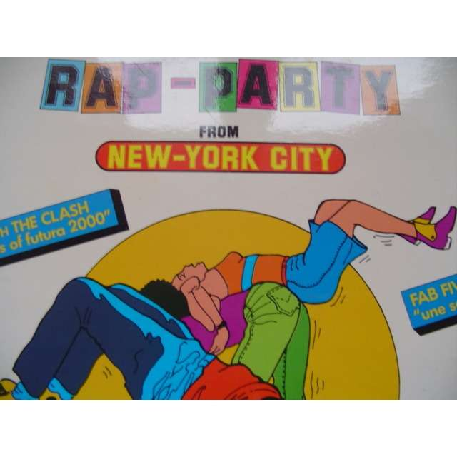 ST/trouble funk/fabe 5 freddy/ Phase II/Futura & c rap party from new-york city