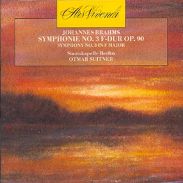 OTMAR SUITNER BRAHMS - Symphonie n°3
