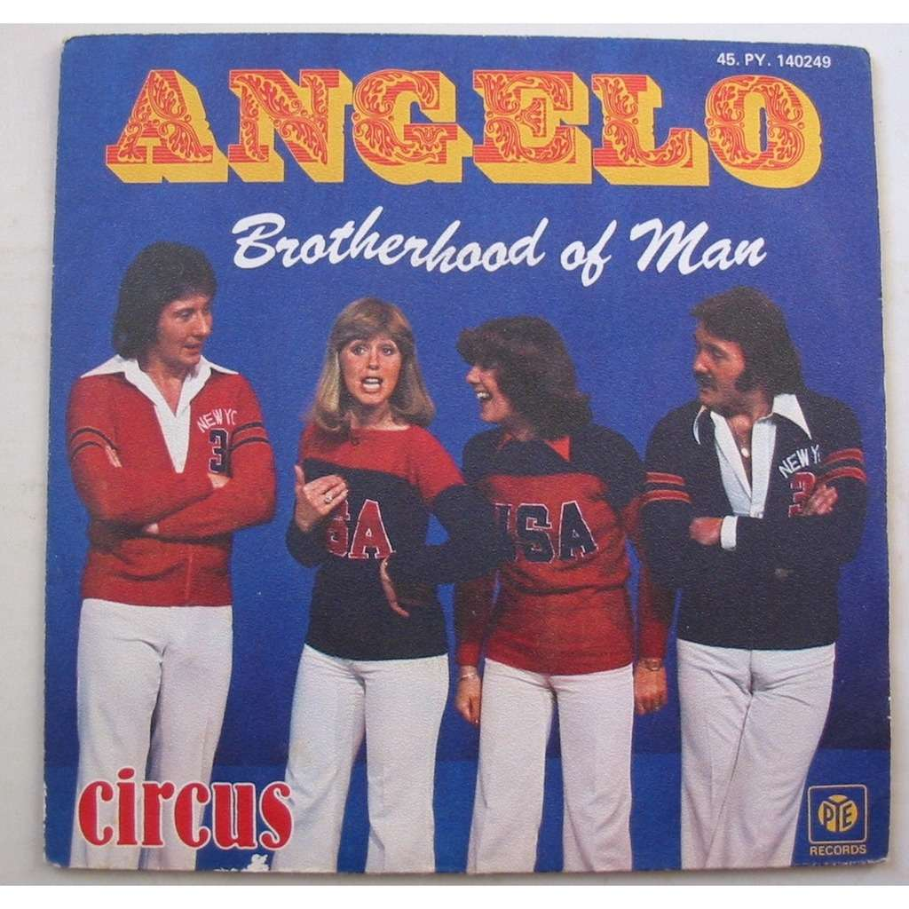Angelo de Brotherhood Of Man, 45 RPM (SP 2 títulos) con luckystar -  Ref:118514075