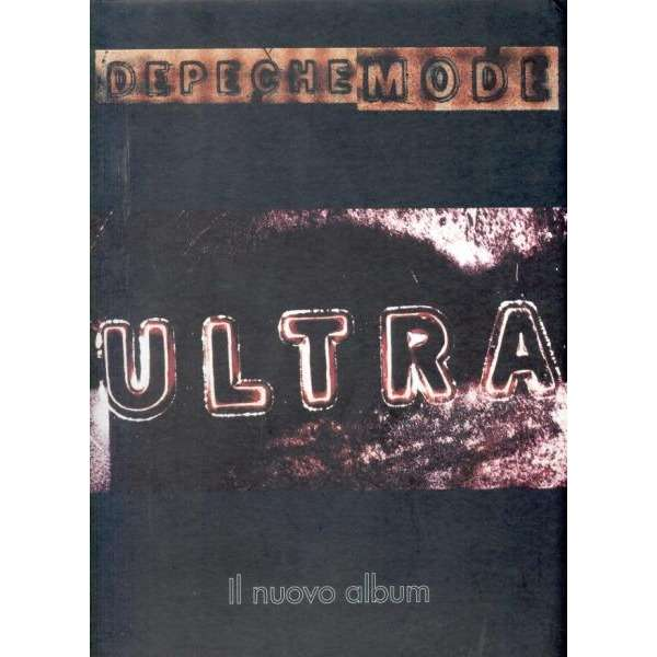 Depeche Mode Ultra (Italian 1997 official promo-only 'album release' Shop counter display!!)