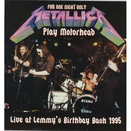 Metallica Live At Lemmy's Birthday Bash 1995 (lp)