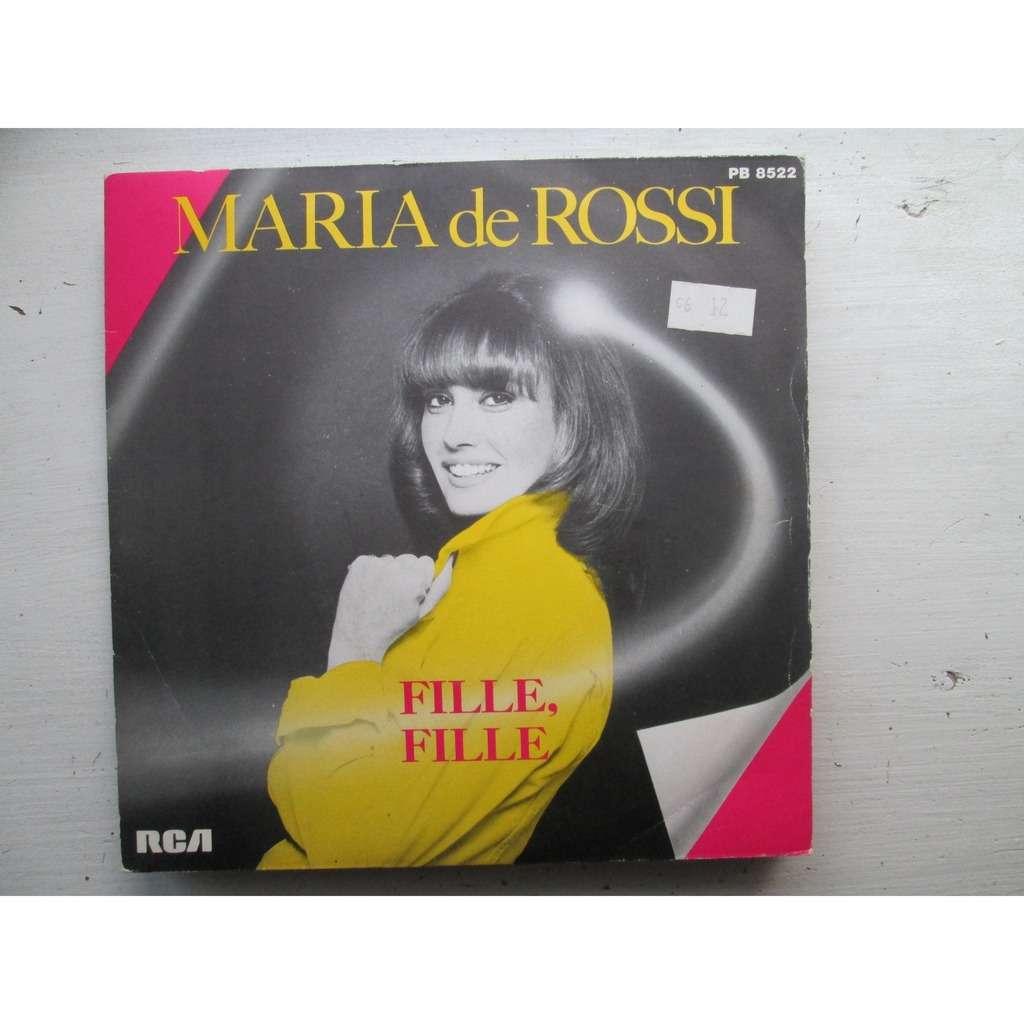 Maria De Rossi - Fille, Fille / Salut Crocodile