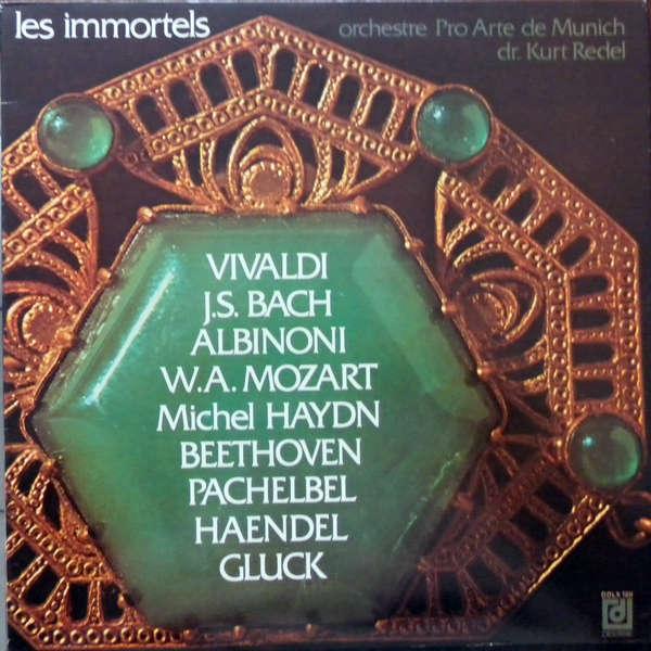 kurt redel - orchestre pro arte munich Les immortels