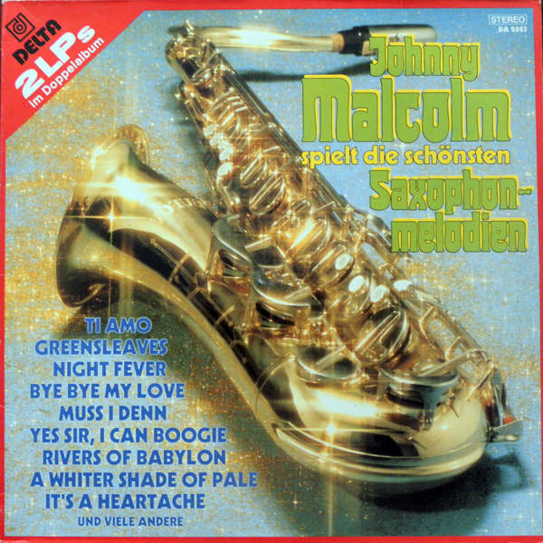 Johnny Malcolm Saxophon-melodien