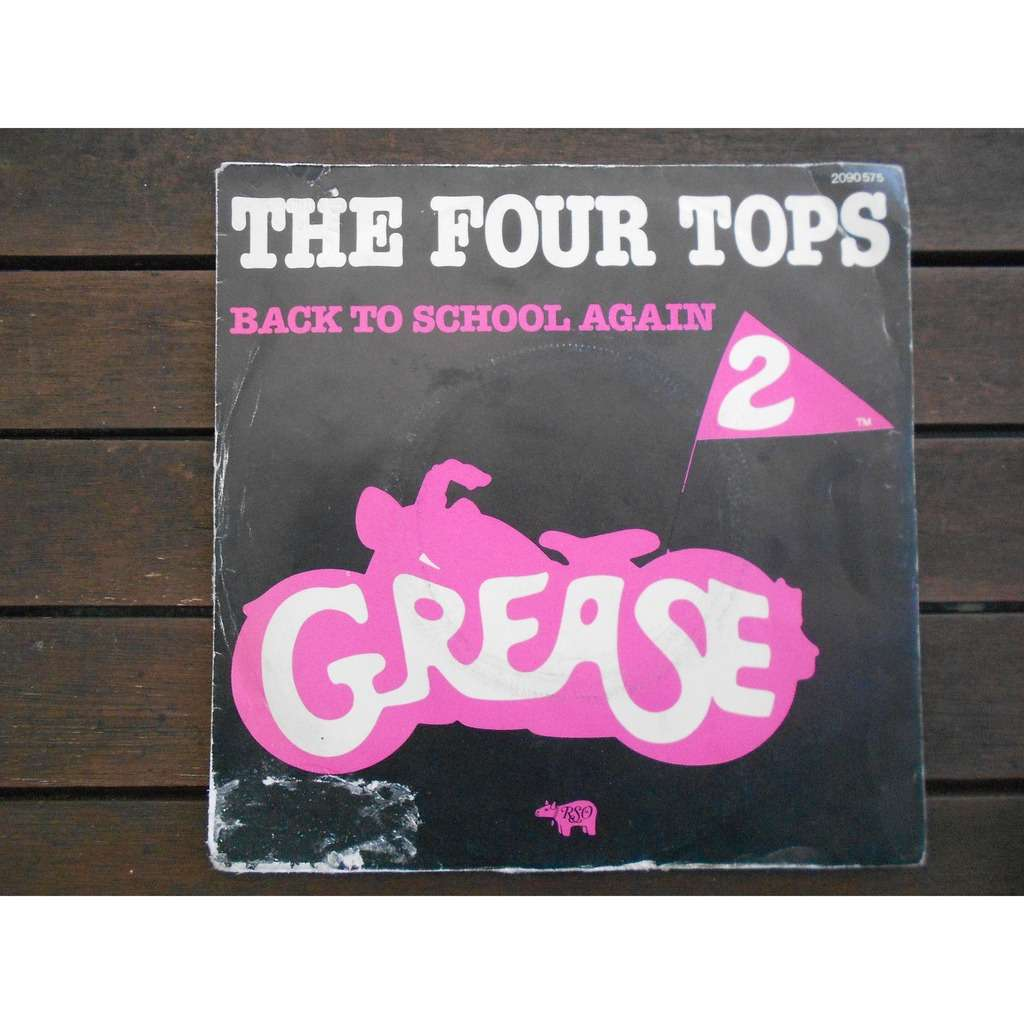 the four tops back to school again - rock-a-hula-luau (ost 'grease 2')