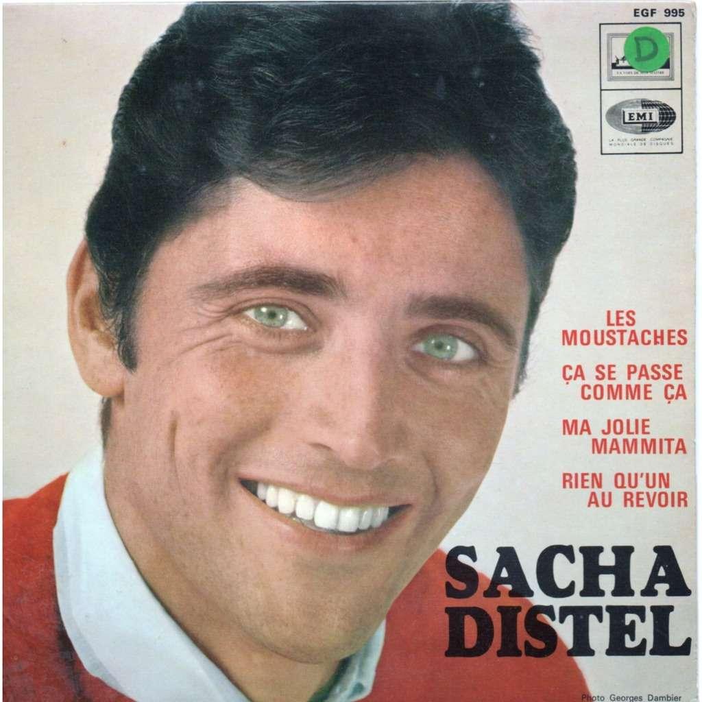 Sacha Distel - les moustaches - ca ce passe comme ca