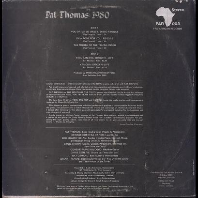 Pat Thomas 1980