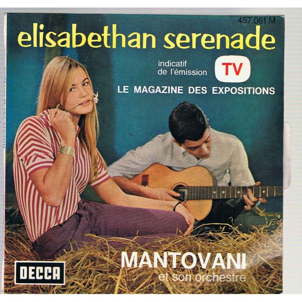 MANTOVANI ET SON ORCHESTRE ELISABETHAN SERENADE/SUMMERNIGHT/GREENSLEEVES/CANDLELIGHT WALTZ