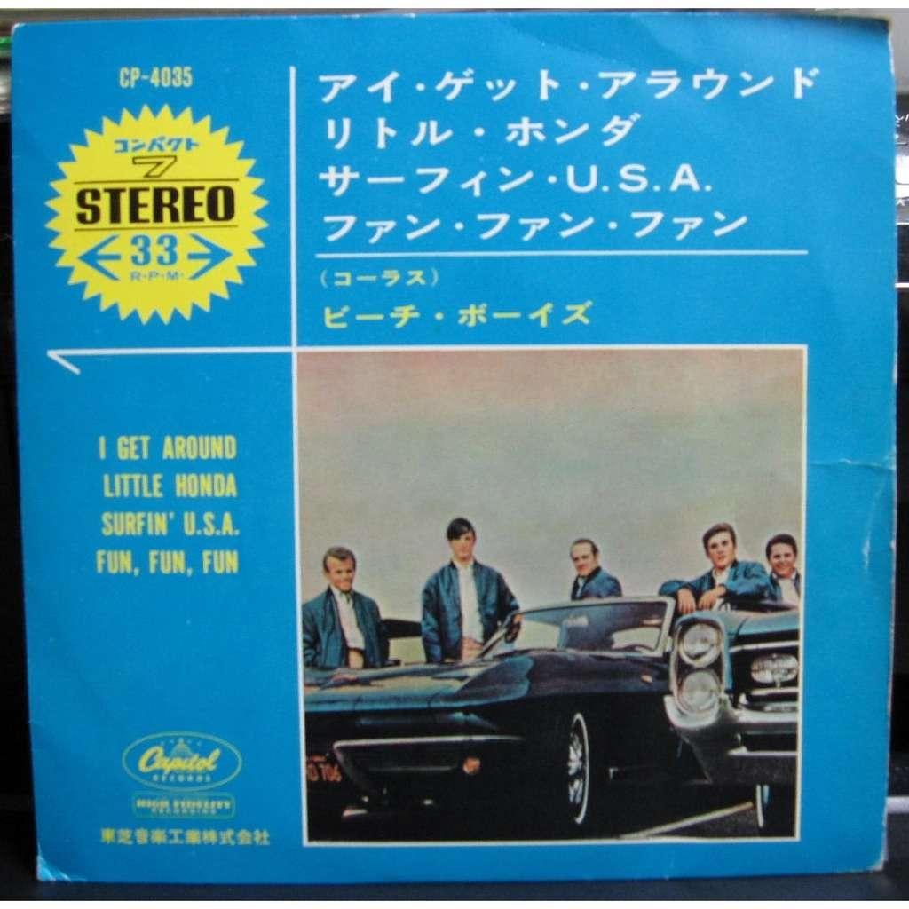 Beach Boys I Get Around Little Honda Surfin Usa Fun Fun Fun Red Vinyl